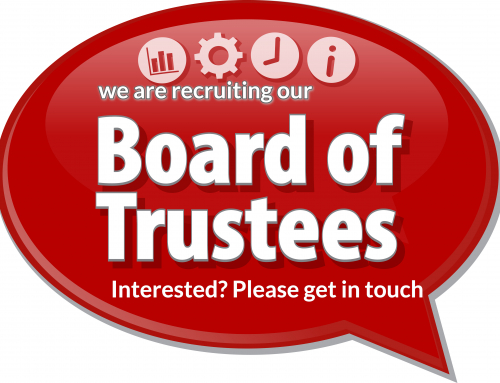 We are recruiting our board of trustees